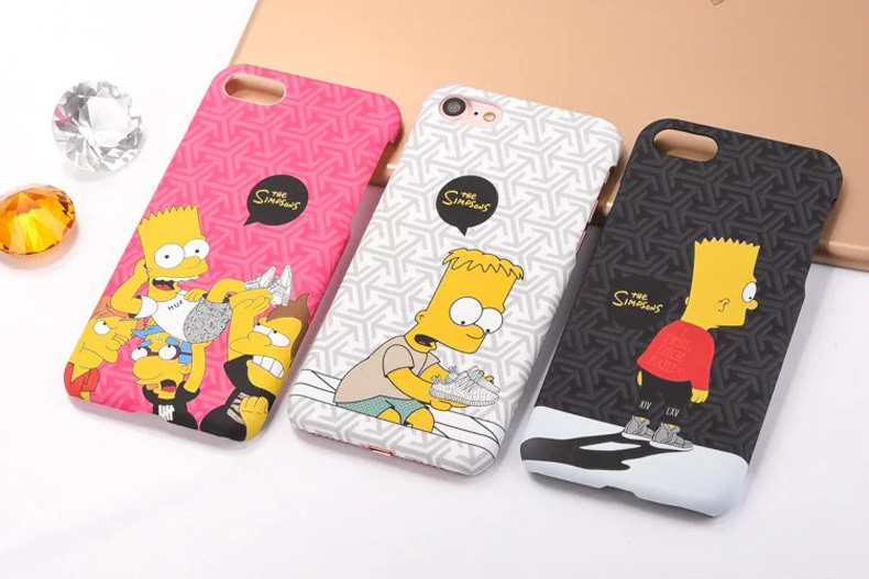 "Fashion Phone Case The <font><b>Simpsons</b></font> Pattern Painted Hard Phone Case Back <font><b>For</b></font> <font><b>iPhone</b></font> <font><b>6</b></font> 6s 7 4.7"" <font><b>Plus</b></font> <font><b>6</b></font> 6s 7 <font><b>Plus</b></font> 5.5"""