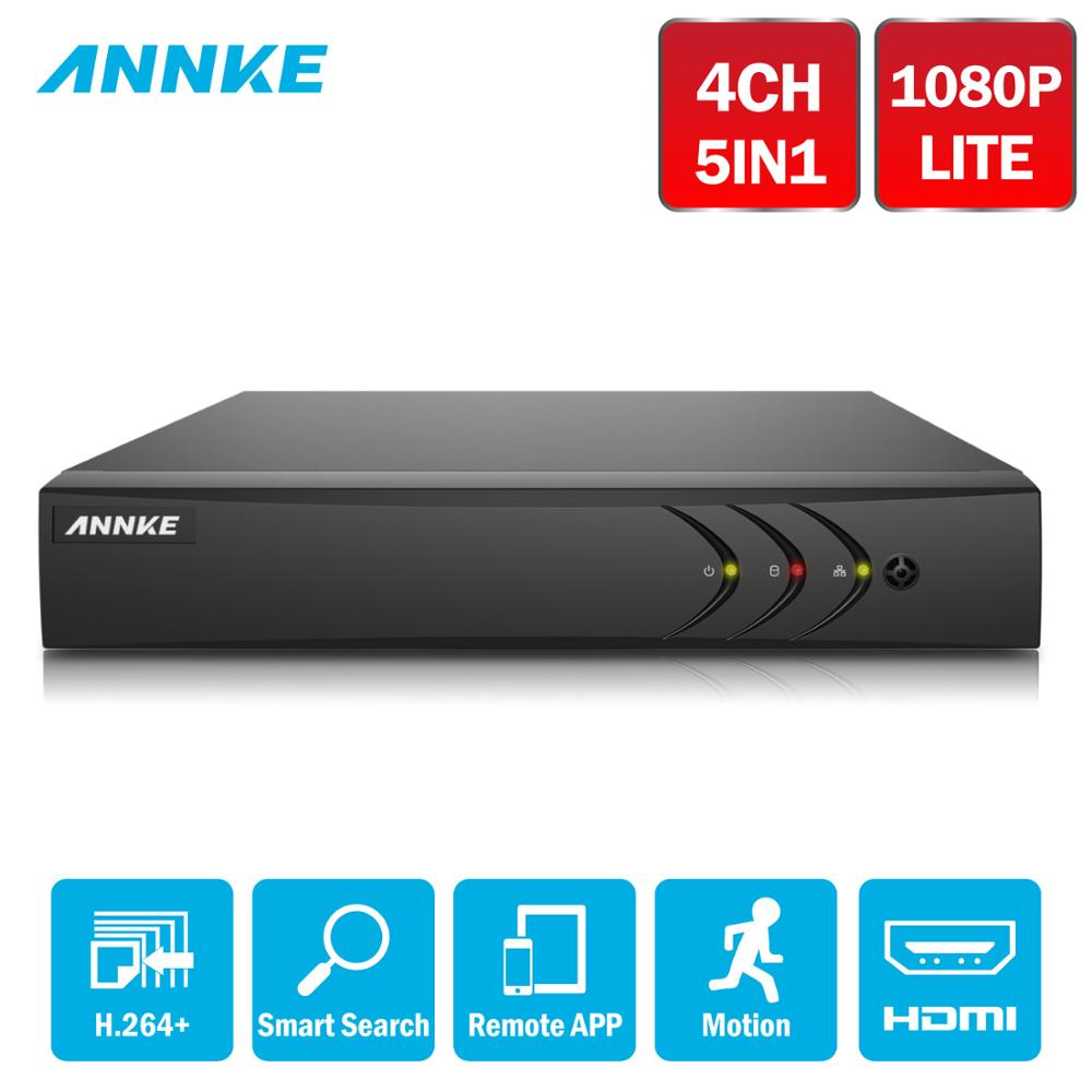 ANNKE 4CH 1080N 5in1 TVI CVI AHD Network DVR HDMI H.264+ DVR Video Recorder for Home Security Camera System =HIK DS-7204HGHI-F1ANNKE 4CH 1080N 5in1 TVI CVI AHD Network DVR HDMI H.264+ DVR Video Recorder for Home Security Camera System =HIK DS-7204HGHI-F1