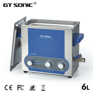 Image 1 - GTSONIC Ultrasonic Cleaner Bath 6L Power Adjustable 45 150W Jewelry Ring Watches Glasses Manicure Denture Necklace Tool Parts