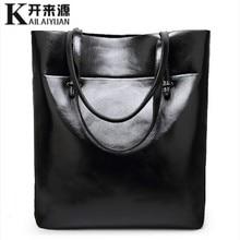 KLY 100% Genuine leather Women handbags 2019 New Simple fashion shoulder diagonal casual handbag Shoulder Messenger Handbag