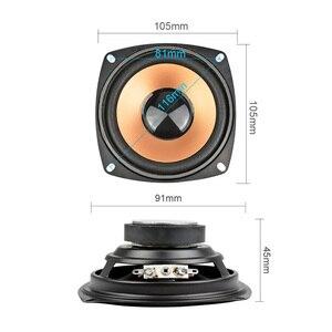 Image 4 - Aiyima 2 Stuks 4Inch 5W Subwoofer Woofer Luidspreker Audio Stereo Kolom Mini Bass Luidspreker Diy Voor Home theater Audio