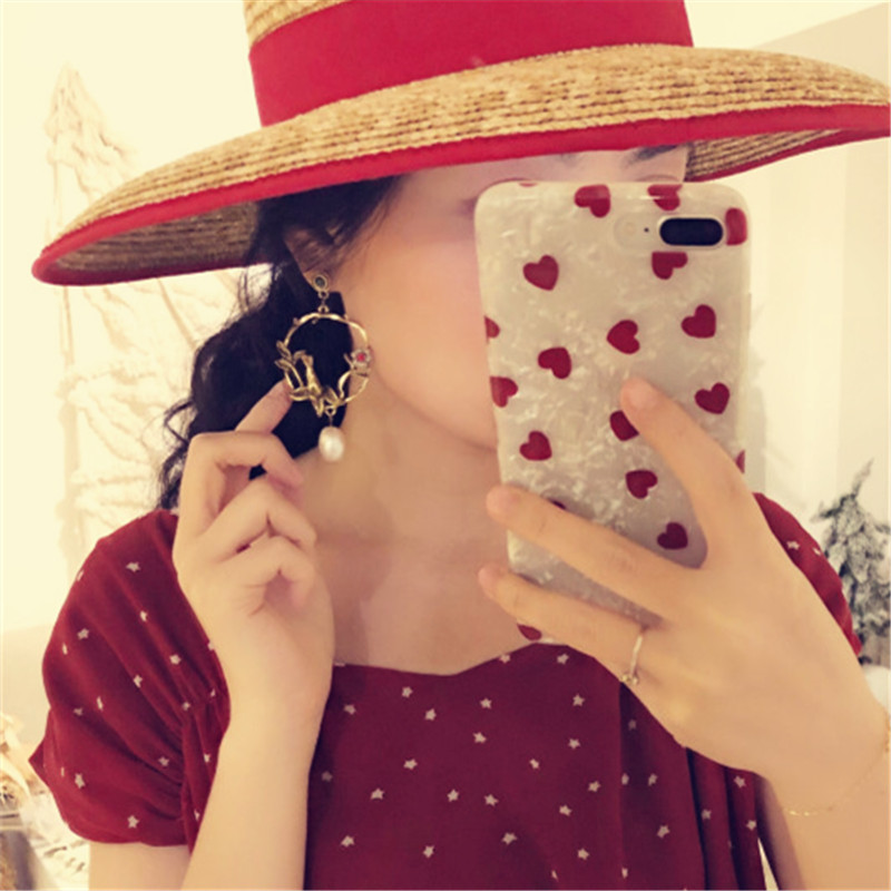 Wholesale manufacturers selling earrings Retro elegant bird branches pendant earrings a woman