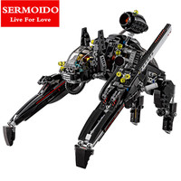 2017 New Sermoido 07056 Batman Ride The Scuttler With Batman Man Bat Building Block Toys Compatible
