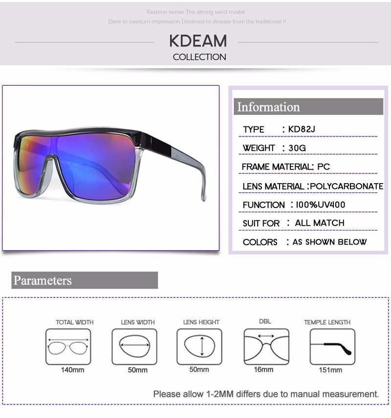 b621b317d46 ... Sunglasses Men UV400 protection Sun Glasses Women Vintage Big-size  Goggles With Brand Hard Box KD802. 111 M4 M5 size ...