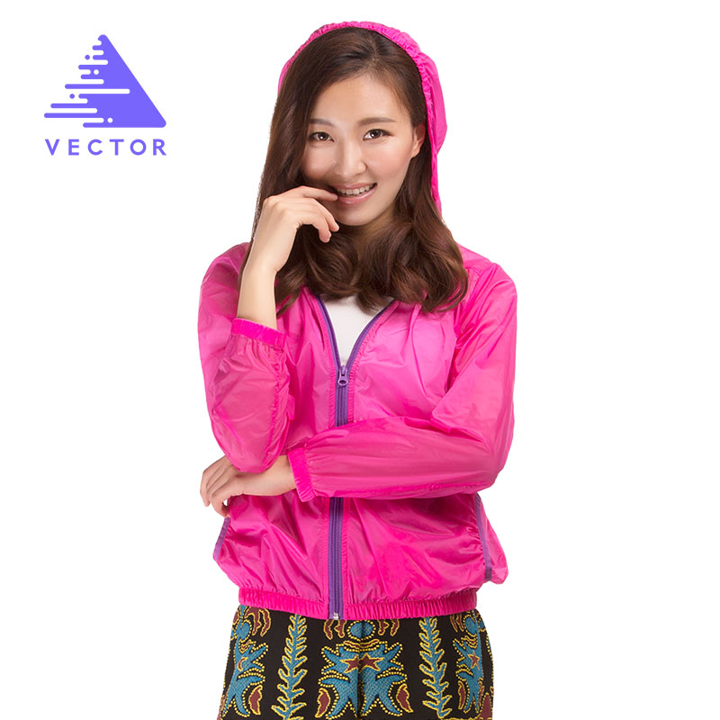 Windproof Waterproof Outdoor Coat Women Summer Jacket Ultralight Outdoor Clothing Hiking Running Sport Jacket 80006
