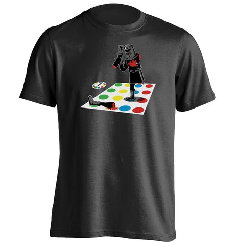 Monty Python Twister Knights Of Ni Holy Grail Mens & Womens Cool T Shirt ...