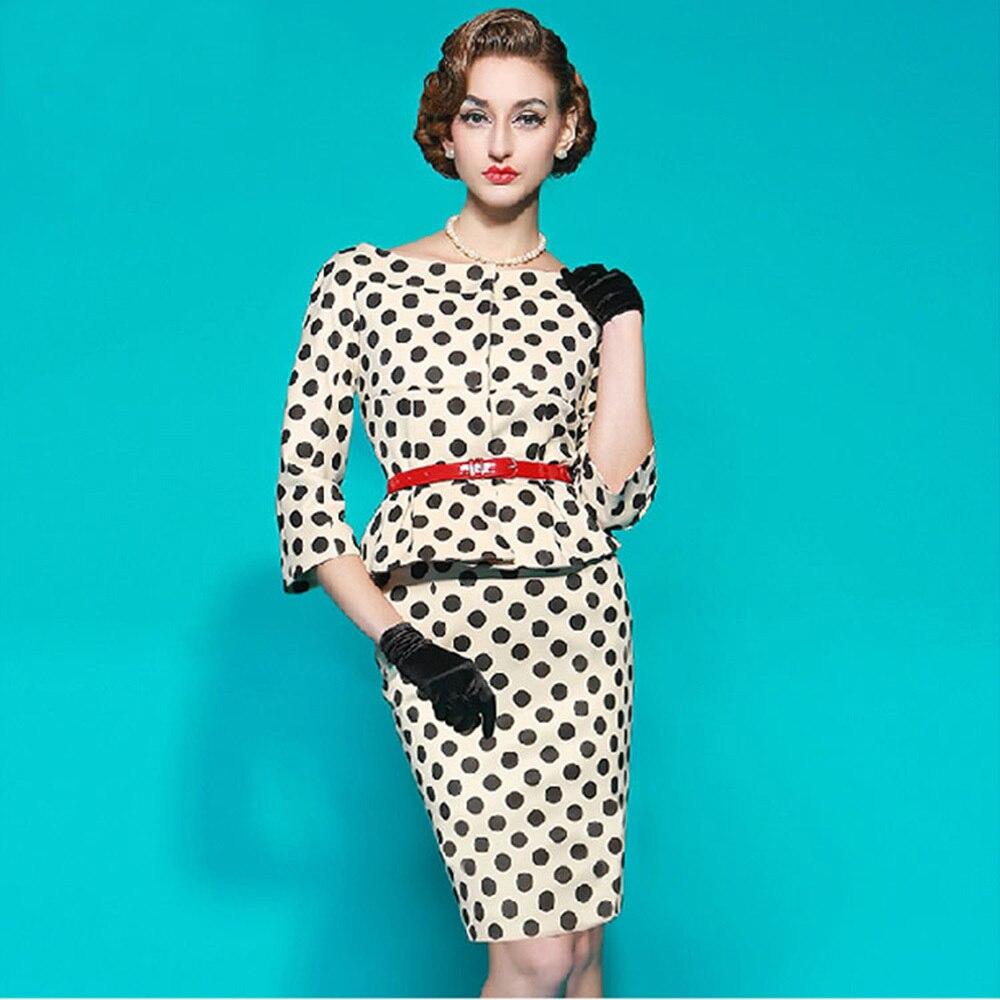 H53 Elegantní dámské oblečení v létě nových módních celebrit bodové volánky sexy bodycon šaty s velikostí S M L XL XXL