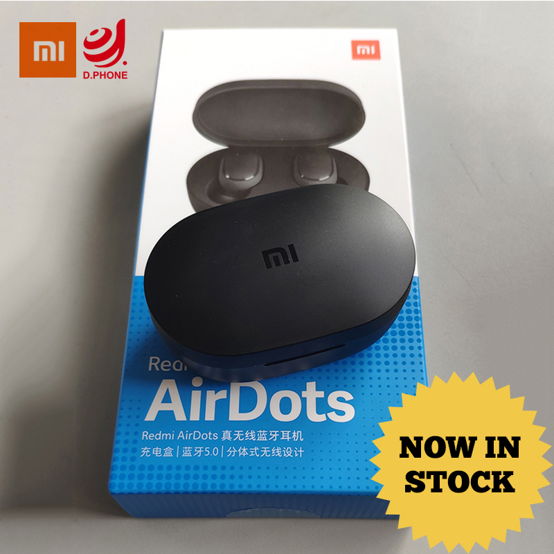 35687bdac7c IN STOCK Original Xiaomi Redmi AirDots True Wireless Bluetooth 5.0  Earphones DSP Active Noise Cancellation Earbuds With Mic