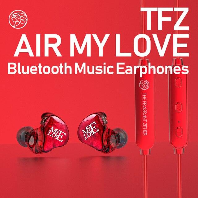 TFZ/AirKing ハイファイ Bluetooth インイヤー有線イヤホンで携帯電話用マイク、充電ケーブル若いイヤホンとビルドのマイク