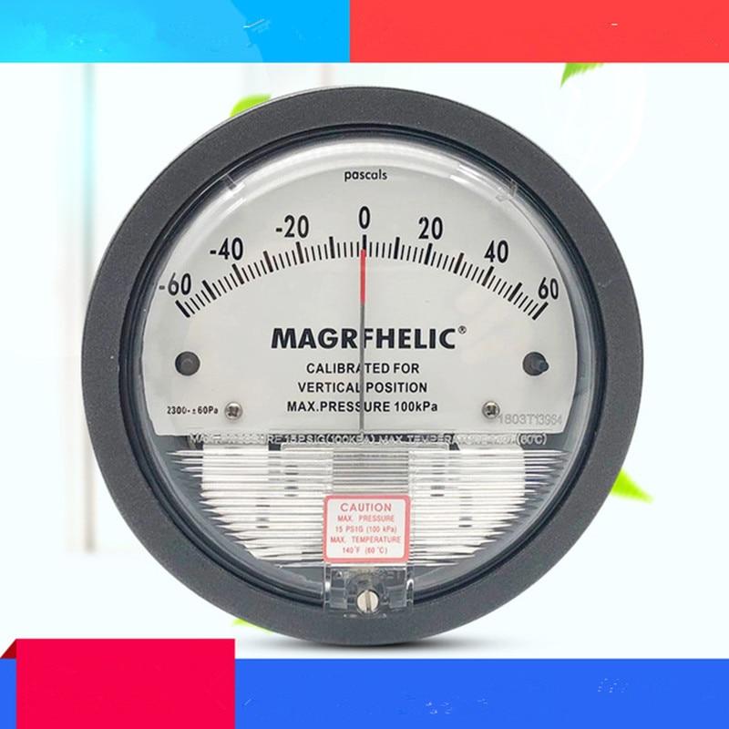 Micromanometer Micro-pressure Gauge Tester Meter Monitor Differential Pressure Gauges Micro Pressure Differential Meter
