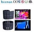 Leeman Sinoela P10 P16 P20 P25 alibaba выразить LED гибкий светодиодный дисплей мягкой светодиодный занавес портативный гибкий светодиодный экран занавес