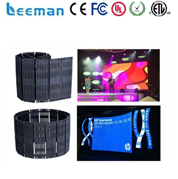 Leeman Sinoela P10 P16 P20 P25 alibaba express LED flexible led display soft led curtain portable flexible led curtain screen