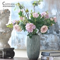 Classical Royal Family 6 Peony Flowers European American Peony Simulation Flowers Family Party Party Decorative Flowers