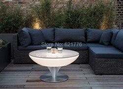 D66 * H58 EINE Einzigartig Gestaltete Tisch Führte Beleuchteten Möbel, Lounge LED, führte kaffee tisch wiederaufladbare für Bars, Weihnachten, veranstaltungen