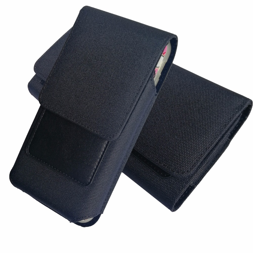 <font><b>cell</b></font> <font><b>phone</b></font> Waist Pack, For iphone 6s <font><b>7</b></font> 8 plus 5.5 inch Nylon Pouch Bag with Belt Clip Holster Case For Blackview P6000