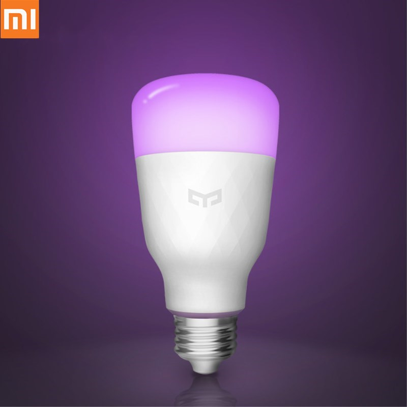 Electric Toothbrushes & Replacement Heads Electric Toothbrushes Xiaomi Yeelight Lemon Blue Ii Rgb Led Smart Bulb Rgb/white E27 10w 800 Lumens Mi Smart Wifi Light Bulbs Phone Remote Control