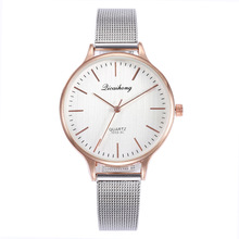 цена Top Brand Watches Women Luxury Silver ultra-thin Stainless Steel Watch Women's Quartz Bracelet Wrist Watches Ladies Clock онлайн в 2017 году