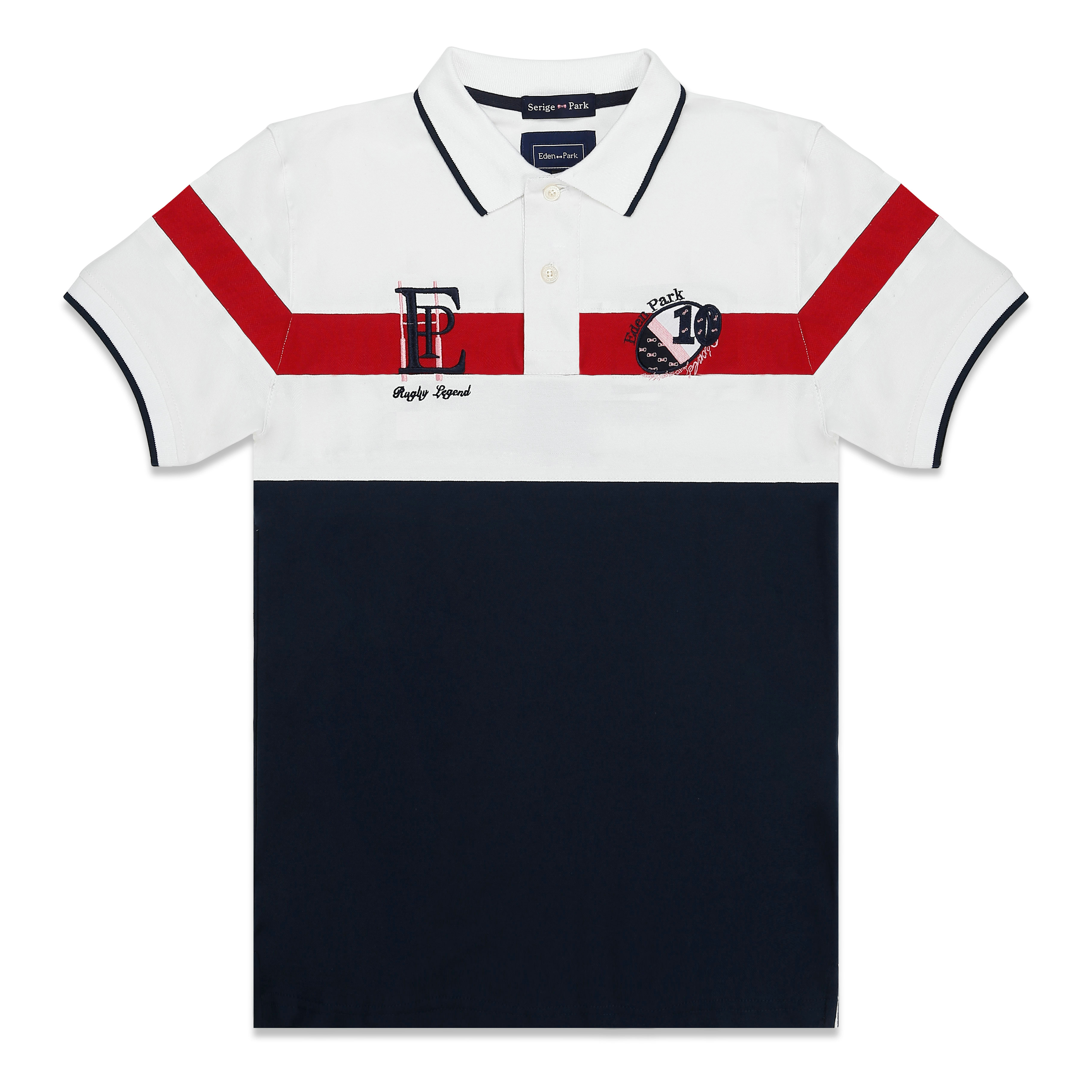 2019 FASHION PATTERN NEW MAN   POLO   SHIRT SHORT SLEEVE WITH HIGH QUALITY MATERIAL SERIGE EDEN PARK WITH SUPERIOR COTTON MATERIAL
