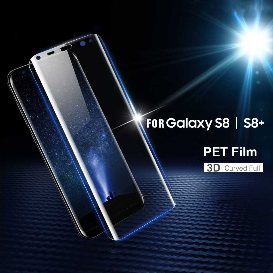 Full cover 3D soft PET film for Samsung galaxy S8 plus Note 9 8 S7 S6 edge screen protector for samsung S9 Not tempered glass