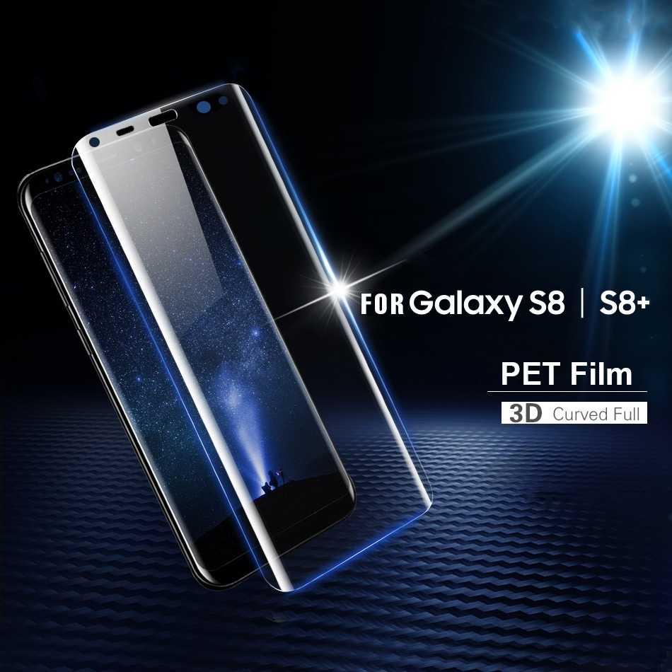 Полное покрытие 3D мягкая пленка пэт для samsung galaxy S8 плюс Примечание 9 8 S7 S6 край Защита экрана для samsung s9 не закаленное стекло