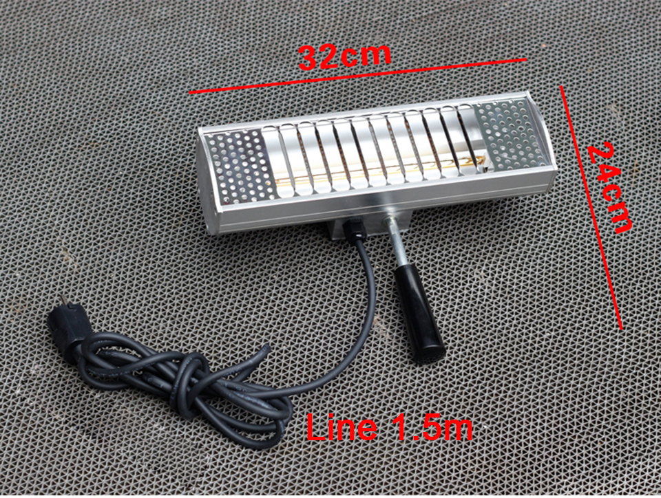 Image 5 - 1000W 220V Car Handheld Spray Baking Infrared Paint Curing Heating Lamp KD 01