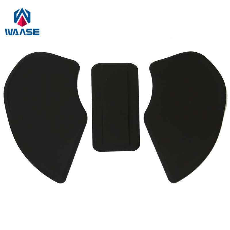 waase Motorcycyle Tank Pad Protector Sticker Decal Gas Knee Grip Tank Traction Pad Side For BMW R NINE T 2014 2015 2016 2017
