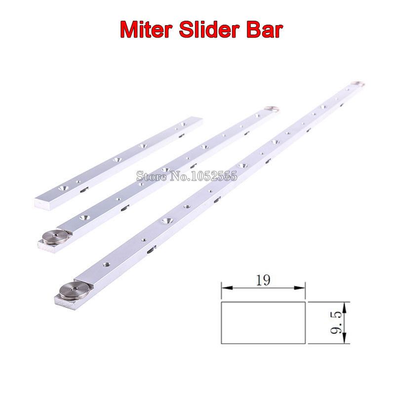 High Quality 2PCS/lot 300mm/450mm/650mm Aluminium Alloy Miter Bar Miter  Slider Table Saw Miter Gauge Rod Durable In Use In Hand Tool Sets From Home  ...