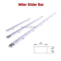 High Quality 300mm 450mm 650mm Aluminium Alloy Miter Bar Miter Slider Table Saw Miter Gauge Rod