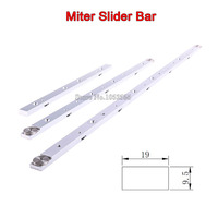 High Quality 300mm 450mm 650mm Aluminium Alloy Miter Bar Miter Slider Table Saw Miter Gauge Rod
