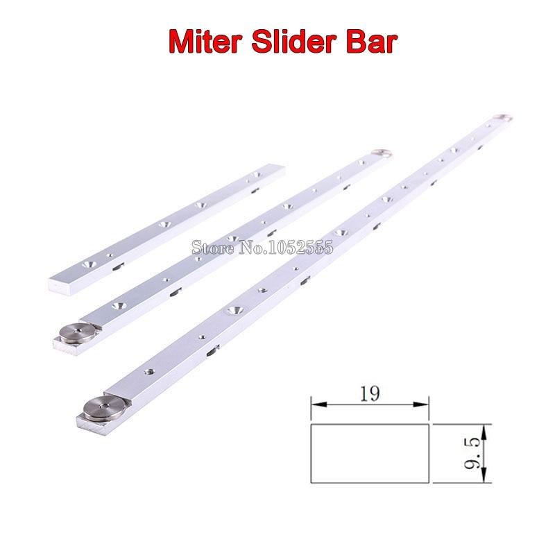 Haute qualité 2 PCS/lot 300mm/450mm/650mm en alliage d'aluminium Miter Bar onglet curseur Table scie onglet jauge tige durable en utilisation