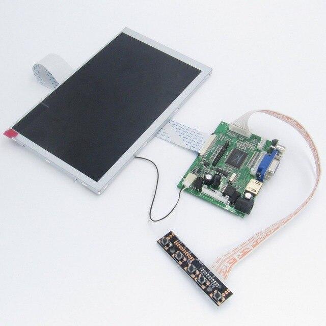 8 inch Raspberry Pi  LCD With HDMI VGA AV Screen Display Module For Pcduino Banana Pi 800x480