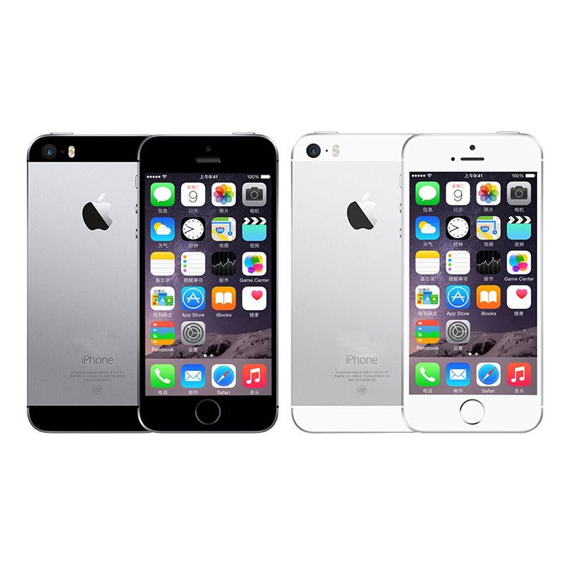 Image 2 - Unlocked APPLE iPhone 5s Smartphone 16GB/32GB/64GB ROM 4.0 inch Touchscreen 8MP Dual Camera WiFi Bluetooth Fingerprint LTE Phone-in Cellphones from Cellphones & Telecommunications