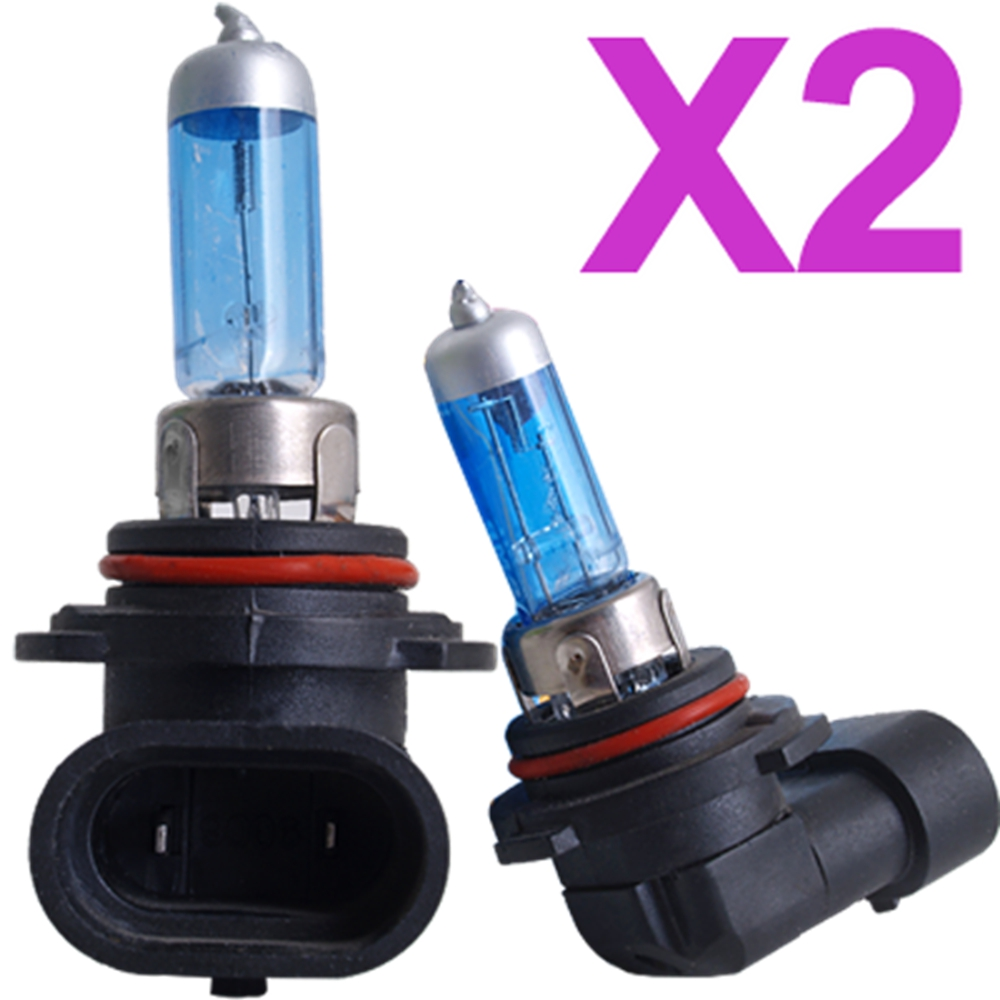 2pcs Car HB4 9006 Light Headlight Halogen Bulb Lamp White 12V 55W