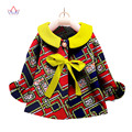 2017 African Clothing kids dashiki Traditional cotton Dresses Matching  Africa Print Children top baby clothes cotton BRW WYT21