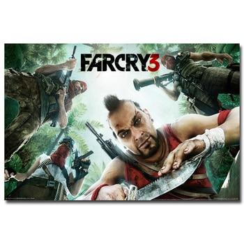 Плакат гобелен Far Cry 3 шелк