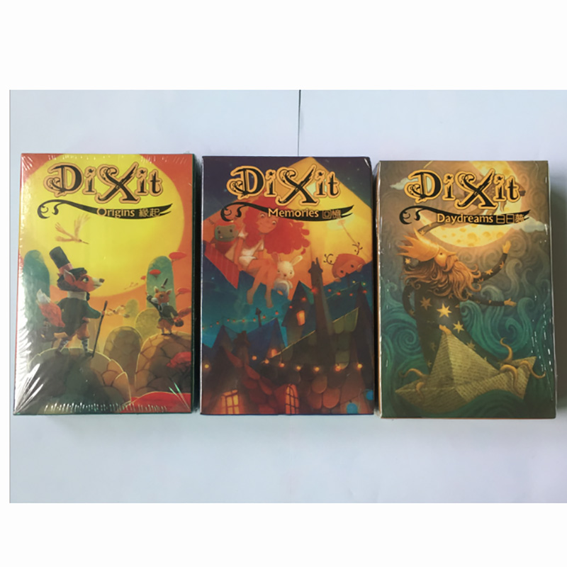 Words   wonderful dixit daydream extended board game 2-10 group language board game big board first 100 words