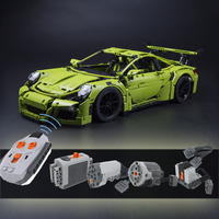 Reassembling the remote control parts of 20001 3368 42056 Technic Series building blocks rc car Accessories version toy