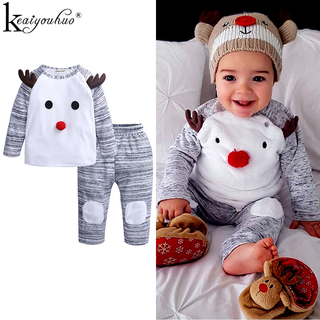 3bbf3b74149c8 Baby Boy Clothes 2018 to 2019 New First Christmas Outfits Baby Girl Clothes  Cotton Autumn Winter