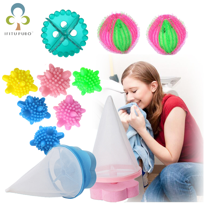 Laundry Balls Hair Removal Catcher Filter Mesh Washing Machine Filter Laundry Balls Laundry Tools Accessories GYH