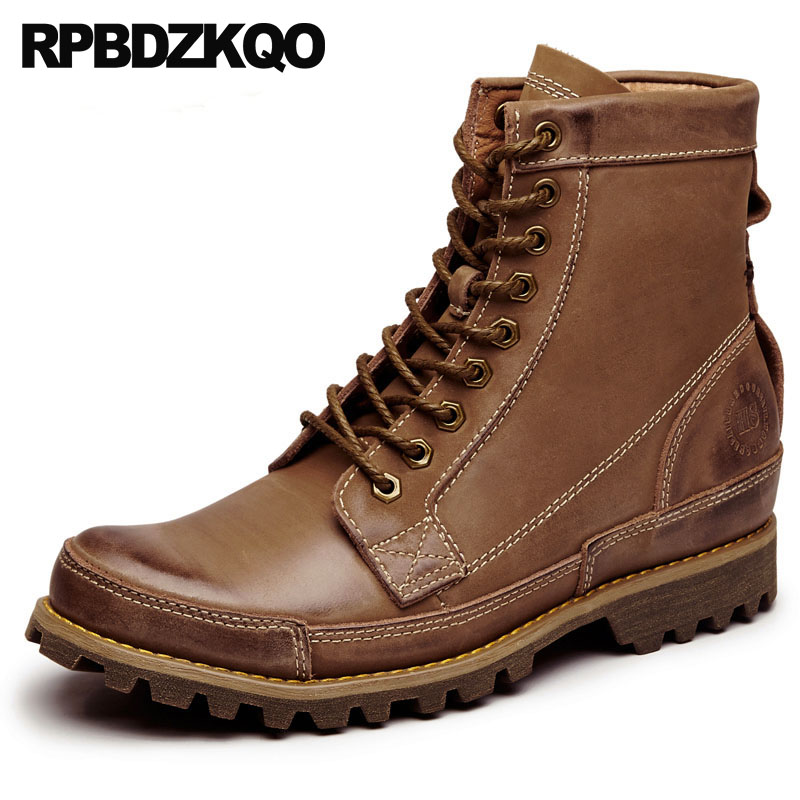 Yellow Fur Winter Designer Shoes Men High Quality Full Grain Flat Army Boots Combat Outdoor Military Brown Zipper Ankle TacticalYellow Fur Winter Designer Shoes Men High Quality Full Grain Flat Army Boots Combat Outdoor Military Brown Zipper Ankle Tactical