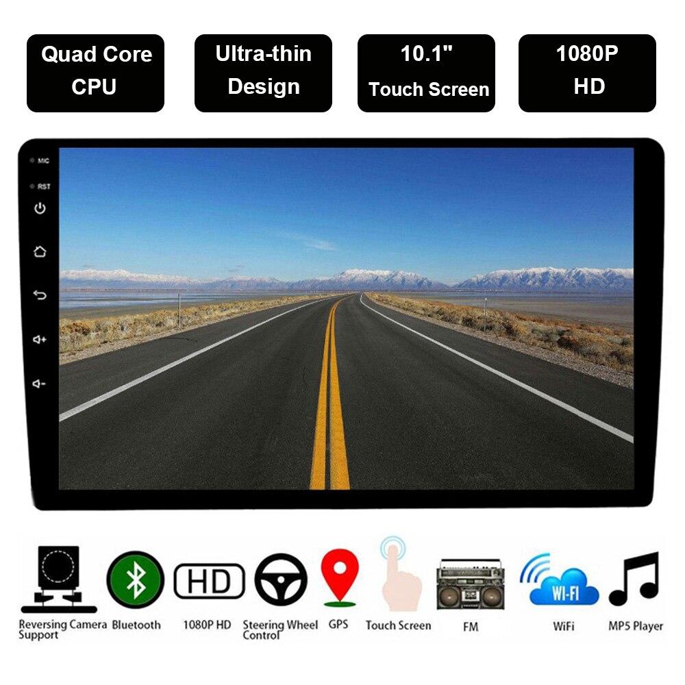 Universel 9/10. 1 pouce 2 Din Android voiture multimédia Auto Radio 2Din Autoradio Gps Bluetooth Fm Wifi voiture stéréo 47