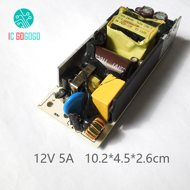 AC DC 12V 5A Switching Power Supply Module Switch Circuit Bare Board ...