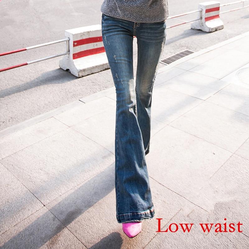 Waist Chiarore Grandi Blue Blue Delle Sottile Jeans Blue Lunghi Vita light Elasticità Acrmrac Di Autunno Piccolo Della Pantaloni Manicotto Primavera E Donne middle Dimensioni Del Dei Low 1dSFZ8