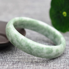 Drop shipping Cheaper Natural Green Guizhou Jades Bracelets Round Bangles Gift For Women fine Jewelry accessories