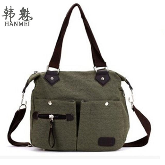 2017 Mulheres Marca Lona Ocasional Bolsa Bolsa de Ombro Cor Bag Lady Messenger Bag Frete Grátis Top Quality P159