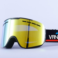 VANREE Brand ski goggles double Lens anti fog Skiing eyewear n cylinde snow glasses adult skiing snowboard goggles HXYJ029