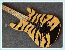 Кастомный магазин из Китая OEM Suneye электрогитары с тигр зерна отделка клен гриф гитары средства ухода за кожей Шеи для продажи