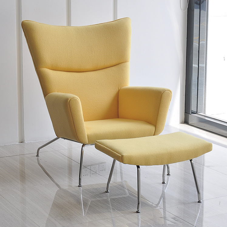 Elegant Modern Creative Wings Armchair Wing Chair Recliner Chair Casual Lunch Wing  Chair High Back Sofa Chair In Restaurant Chairs From Furniture On  Aliexpress.com ...