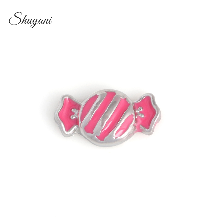 Wholesale 20pcs/lot Hot Fashion Kids Candy Charms Fit Glass Memory Lockets Women Jewelry