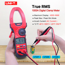 UNI-T UT207/UT208/UT209 Digital Clamp Meter 1000A True RMS Multimeter AC DC voltage current meter Resistance Frequency tester